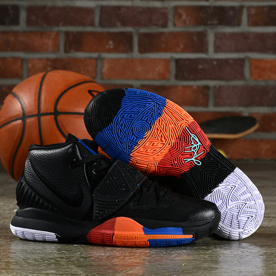 2019 Where To Buy Cheap Wholesale Nike Kyrie 6 Black Orange Blue Red White Colorful - www.wholesaleflyknit.com
