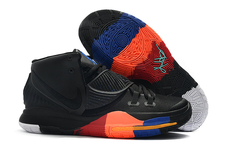 2019 Where To Buy Cheap Wholesale Nike Kyrie 6 Black Orange Red - www.wholesaleflyknit.com
