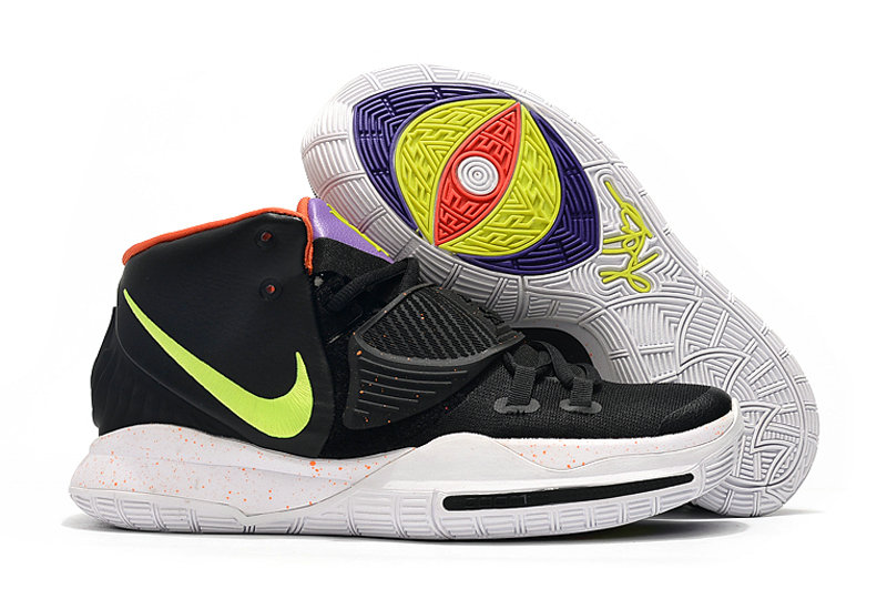 2019 Where To Buy Cheap Wholesale Nike Kyrie 6 Fluorescent Green Black Red - www.wholesaleflyknit.com