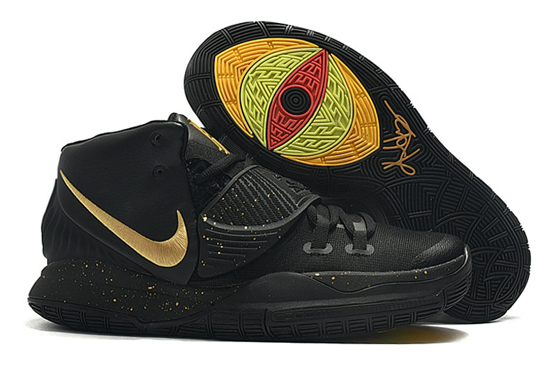 2019 Where To Buy Cheap Wholesale Nike Kyrie 6 Golden Black - www.wholesaleflyknit.com