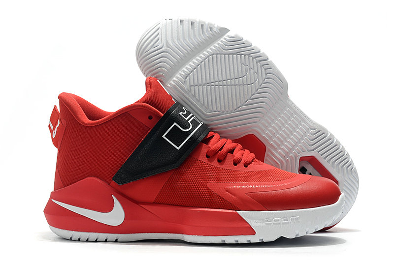2019 Where To Buy Cheap Wholesale Nike Lebron Soldier 12 University Red Black - www.wholesaleflyknit.com
