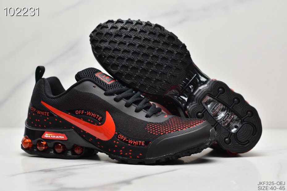 2019 Where To Buy Cheap Wholesale Nike Shox Reax Run Black Rouge Red - www.wholesaleflyknit.com