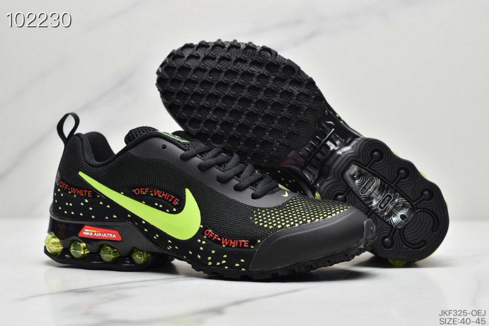 2019 Where To Buy Cheap Wholesale Nike Shox Reax Run Fluorescent Green Black - www.wholesaleflyknit.com