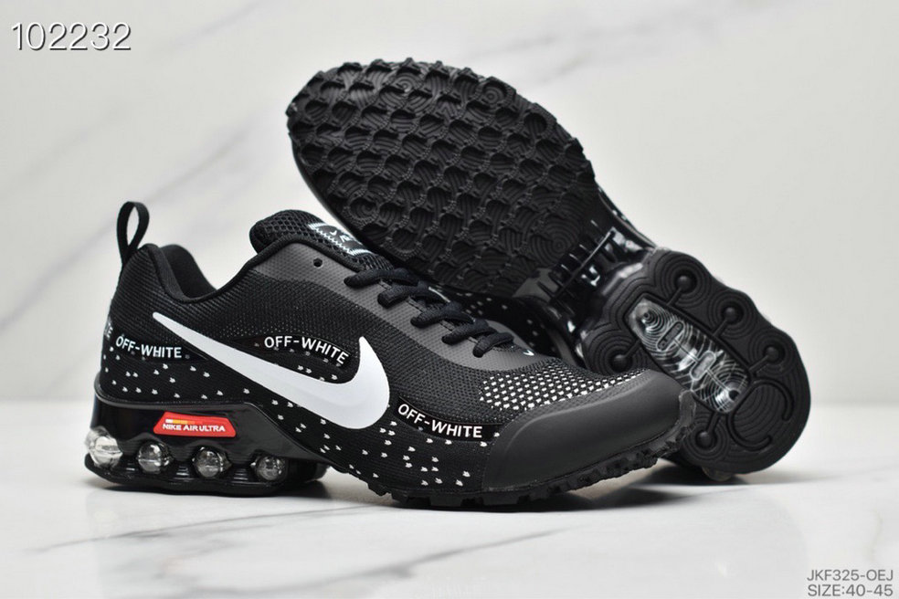 2019 Where To Buy Cheap Wholesale Nike Shox Reax Run White Black - www.wholesaleflyknit.com