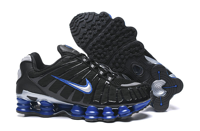 2019 Where To Buy Cheap Wholesale Nike Shox TL Black Blue Grey - www.wholesaleflyknit.com