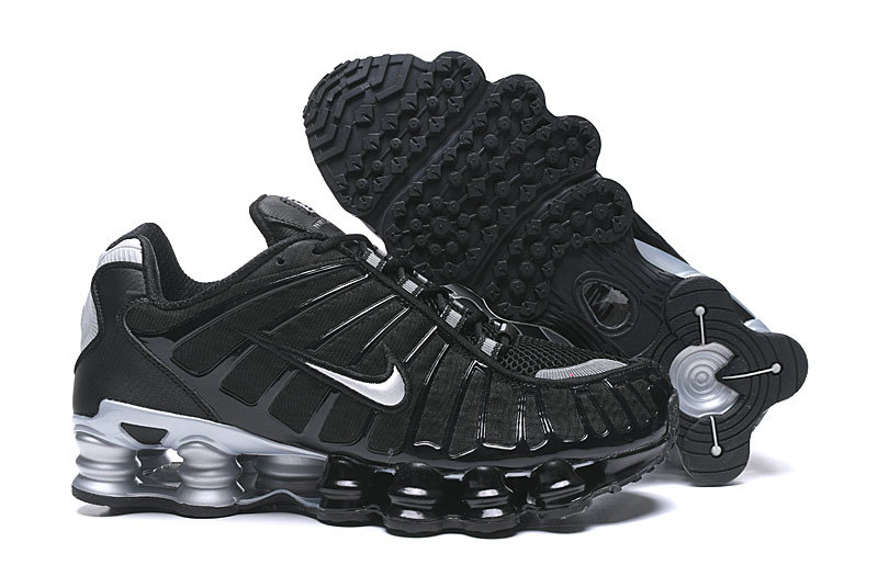 2019 Where To Buy Cheap Wholesale Nike Shox TL Black Silver Grey - www.wholesaleflyknit.com