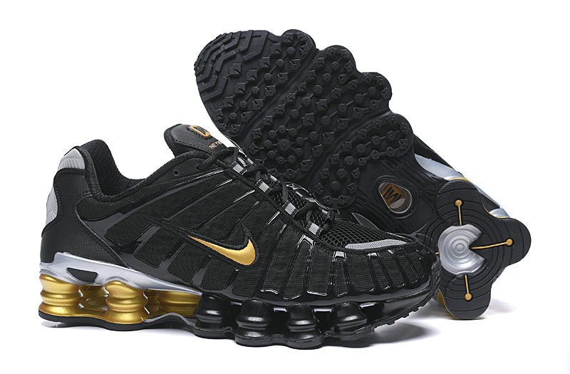 2019 Where To Buy Cheap Wholesale Nike Shox TL Gold Black - www.wholesaleflyknit.com
