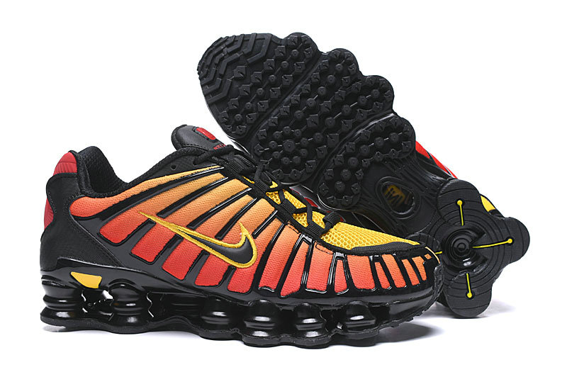 2019 Where To Buy Cheap Wholesale Nike Shox TL Orange Red Black - www.wholesaleflyknit.com