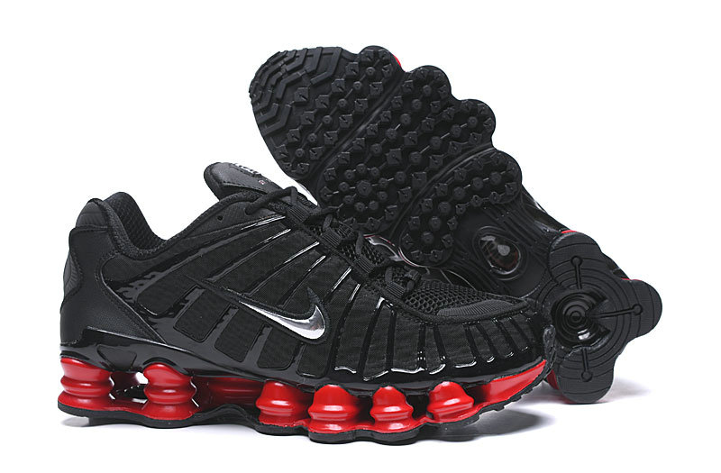 2019 Where To Buy Cheap Wholesale Nike Shox TL Red Black - www.wholesaleflyknit.com