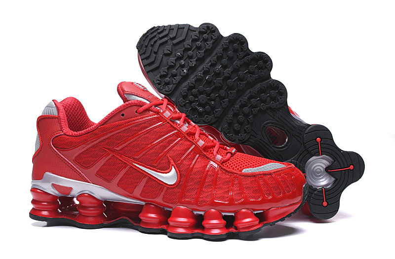 2019 Where To Buy Cheap Wholesale Nike Shox TL University Red Silver Black - www.wholesaleflyknit.com