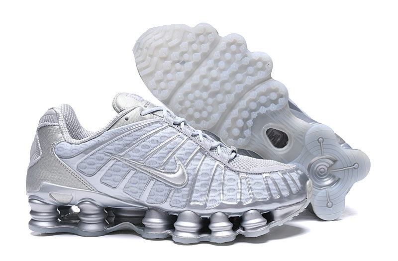 2019 Where To Buy Cheap Wholesale Nike Shox TL White Cold Grey - www.wholesaleflyknit.com