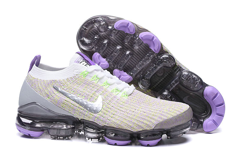 2019 Where To Buy Cheap Wholesale Nike Vapormax Flyknit 3.0 White Purple Silver AJ6910-102 - www.wholesaleflyknit.com