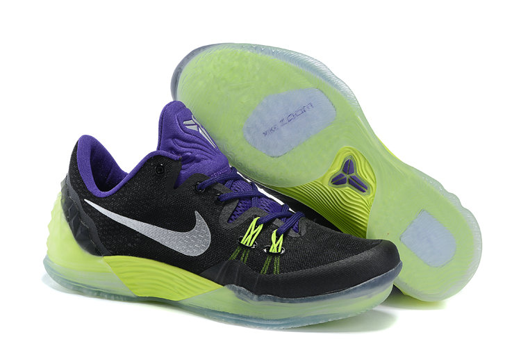 2019 Where To Buy Cheap Wholesale Nike Zoom Kobe Venomenon 5 EP Black Purple-Volt 815757-005 - www.wholesaleflyknit.com