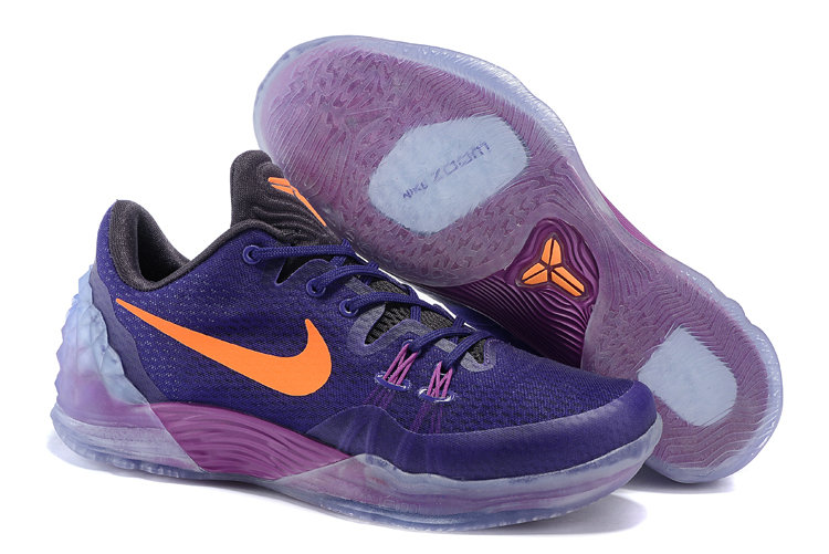 2019 Where To Buy Cheap Wholesale Nike Zoom Kobe Venomenon 5 EP Court Purple Orange 815757-585 - www.wholesaleflyknit.com