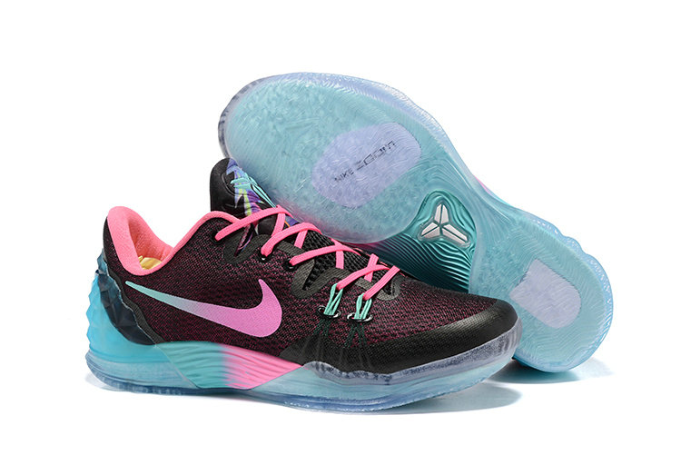 2019 Where To Buy Cheap Wholesale Nike Zoom Kobe Venomenon 5 EP South Beach Blue Black Pink 815757-083 - www.wholesaleflyknit.com