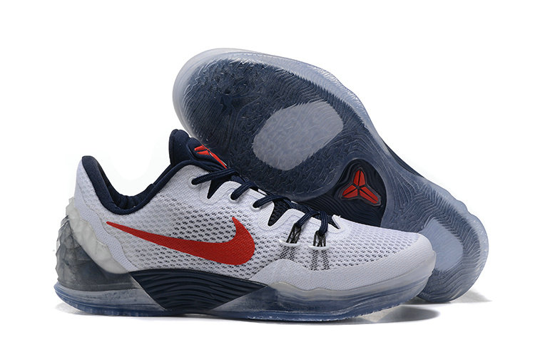 2019 Where To Buy Cheap Wholesale Nike Zoom Kobe Venomenon 5 White Red Deep Royal Blue 815757 164 - www.wholesaleflyknit.com