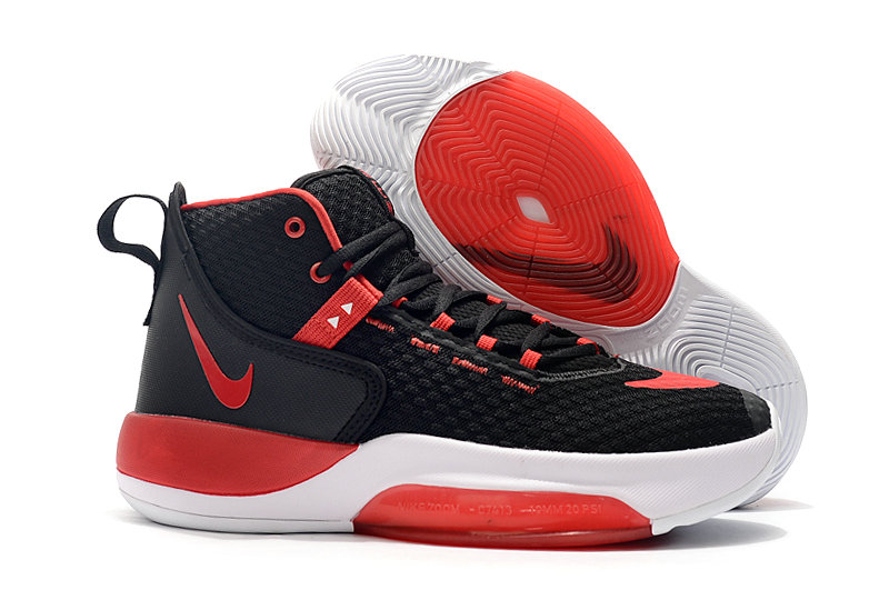 2019 Where To Buy Cheap Wholesale Nike Zoom Rise University Red Black White - www.wholesaleflyknit.com