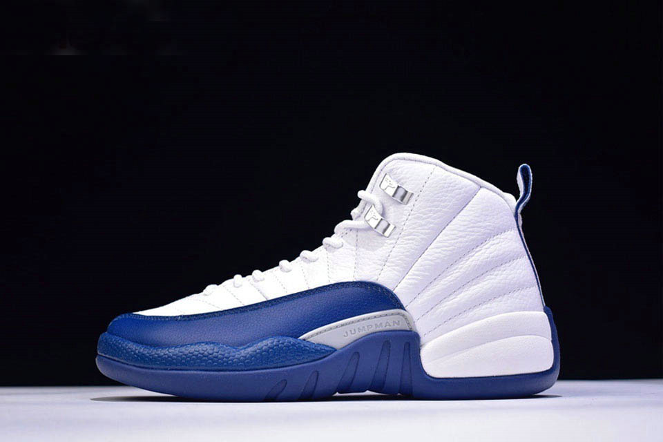 Where To Buy 2020 Air Jordan 12 Retro French Blue White French Blue-Metallic Silver-Varsity Red 130690-113 - www.wholesaleflyknit.com