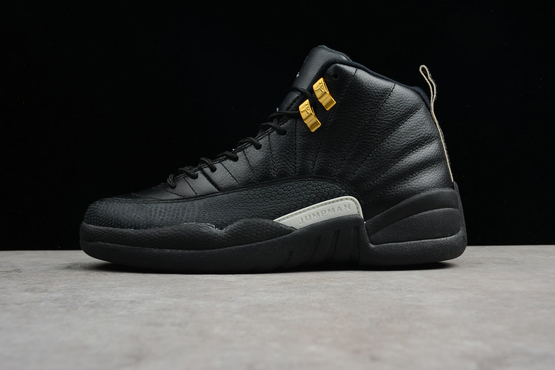 Where To Buy 2020 Air Jordan 12 The Master Black Rattan-White-Metallic Gold 130690-013 - www.wholesaleflyknit.com