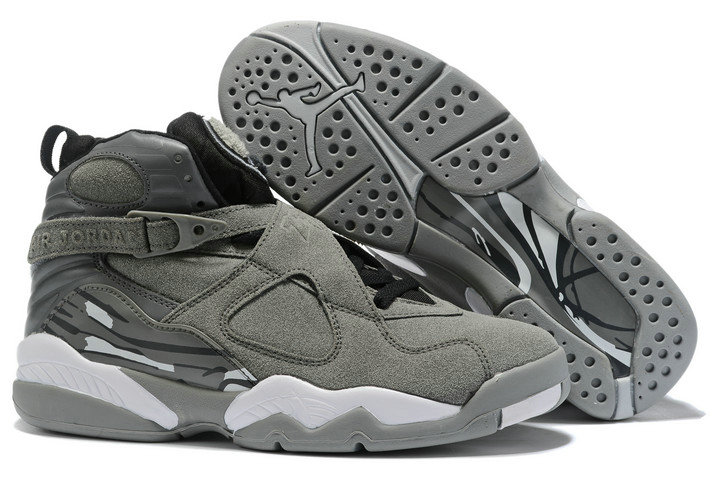 Where To Buy 2020 Air Jordan 8 Cool Grey Black-White For Sale - www.wholesaleflyknit.com