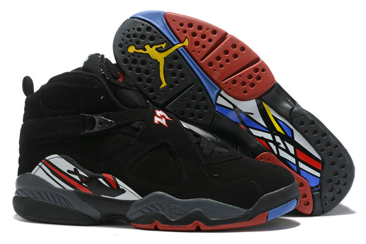 Where To Buy 2020 Air Jordan 8 Playoffs Black Varsity Red-White-Bright Concord 305381-061 - www.wholesaleflyknit.com