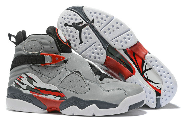 Where To Buy 2020 Air Jordan 8 Wolf Grey Black-Red-White For Sale - www.wholesaleflyknit.com