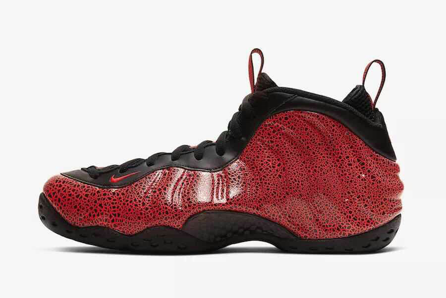 2020 Cheap Wholesale Nike Air Foamposite Gym Red Black - www.wholesaleflyknit.com