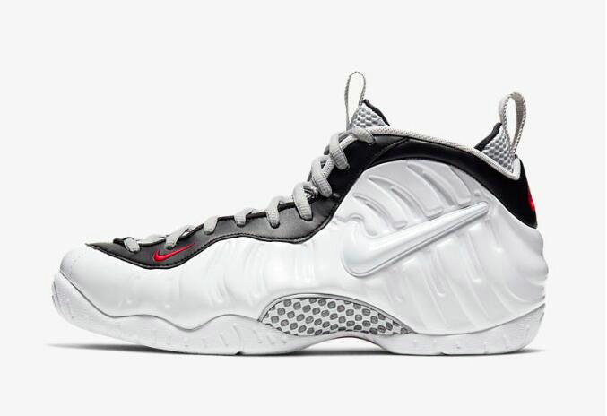 2020 Cheap Wholesale Nike Air Foamposite Pro White Black University Red 624041-103 - www.wholesaleflyknit.com