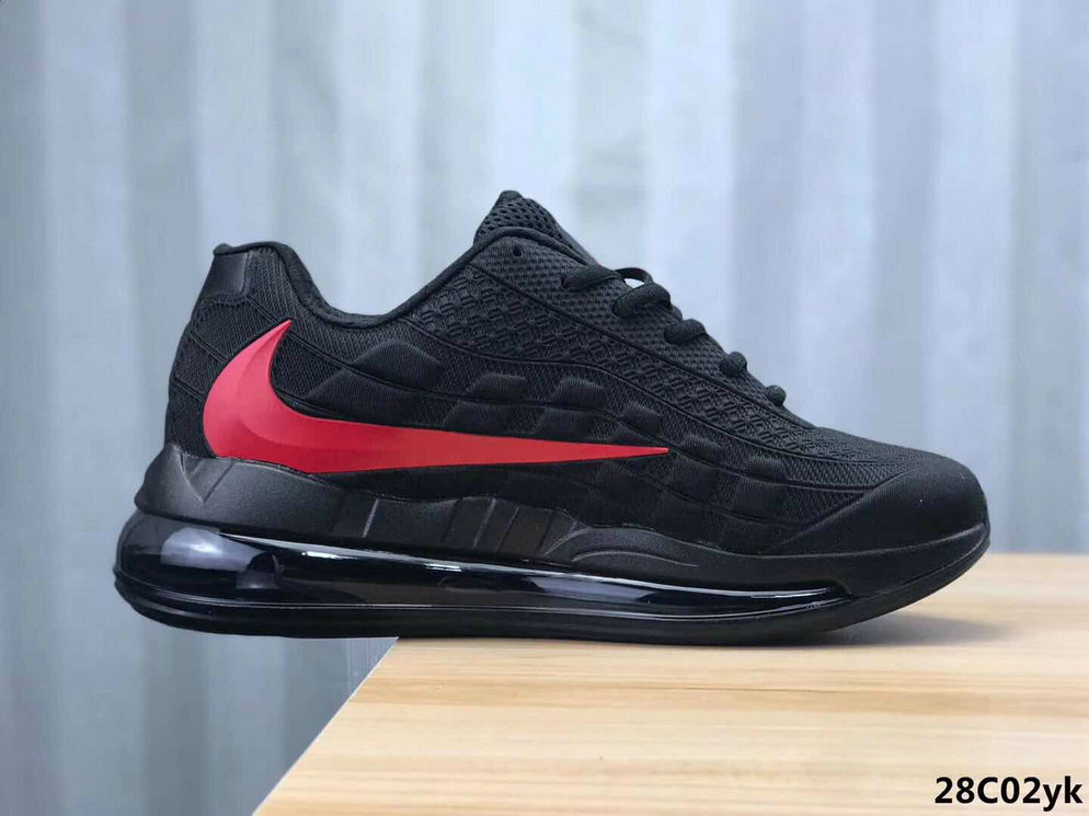2020 Cheap Wholesale Nike Air Max 95 720 Black Red - www.wholesaleflyknit.com