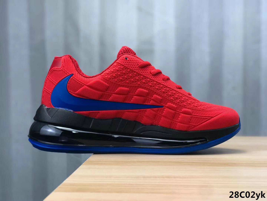 2020 Cheap Wholesale Nike Air Max 95 720 China Red Blue - www.wholesaleflyknit.com