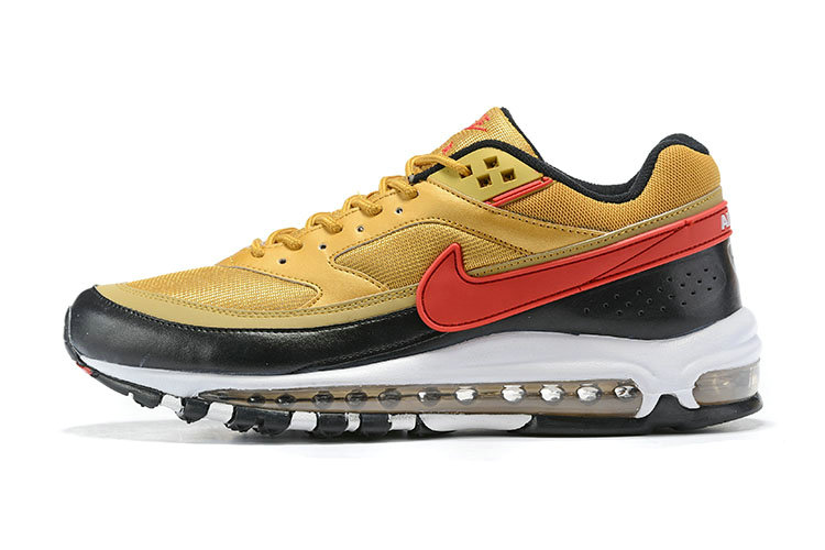 2020 Cheap Wholesale Nike Air Max 97 BW in Metallic Gold University Red - www.wholesaleflyknit.com