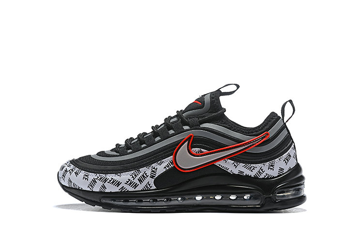 2020 Cheap Wholesale Nike Air Max 97 Ultra 17 SE Black Red Silver White 924452 021 - www.wholesaleflyknit.com
