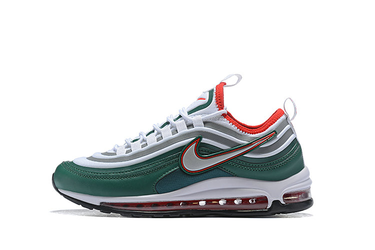 2020 Cheap Wholesale Nike Air Max 97 Ultra 17 SE Green Silver Red White 924452 022 - www.wholesaleflyknit.com