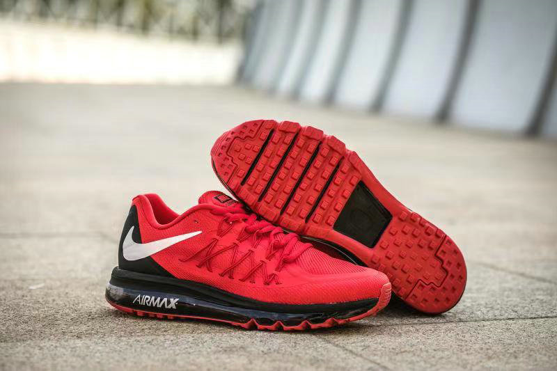 2020 Cheap Wholesale Nike Air Max Gym Red Black White - www.wholesaleflyknit.com