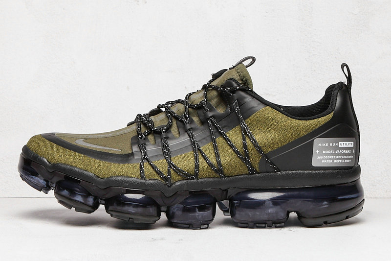2020 Cheap Wholesale Nike Air VaporMax Run Utility Olive Black AQ8810-201 - www.wholesaleflyknit.com