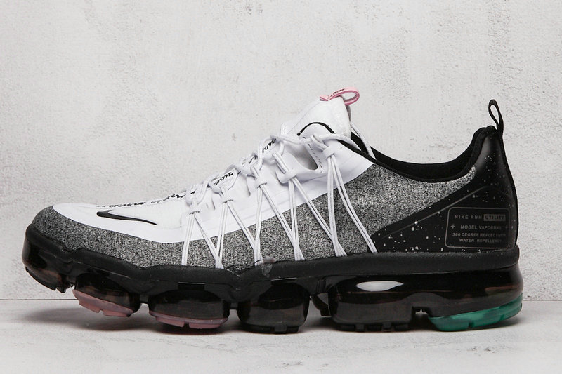 2020 Cheap Wholesale Nike Air VaporMax Run Utility Pink White Silver Grey Black - www.wholesaleflyknit.com