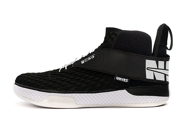 2020 Cheap Wholesale Nike Air Zoom UNVRS FlyEase Black White - www.wholesaleflyknit.com