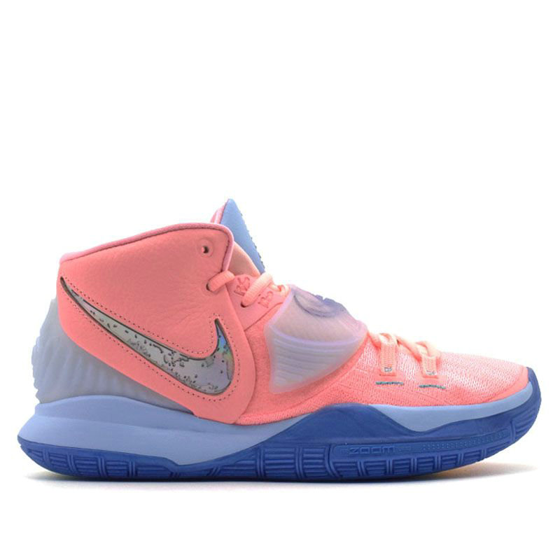 2020 Cheap Wholesale Nike Kyrie 6 CNCPTS EP Pink Tint CU8880-600 - www.wholesaleflyknit.com