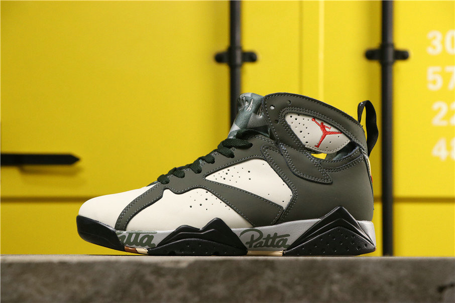 2020 Cheap Wholesale Patta x Nike Air Jordan 7 OG SP Shimmer Mahogany Mink Velvet Brown Tough Red AT3375-100 - www.wholesaleflyknit.com