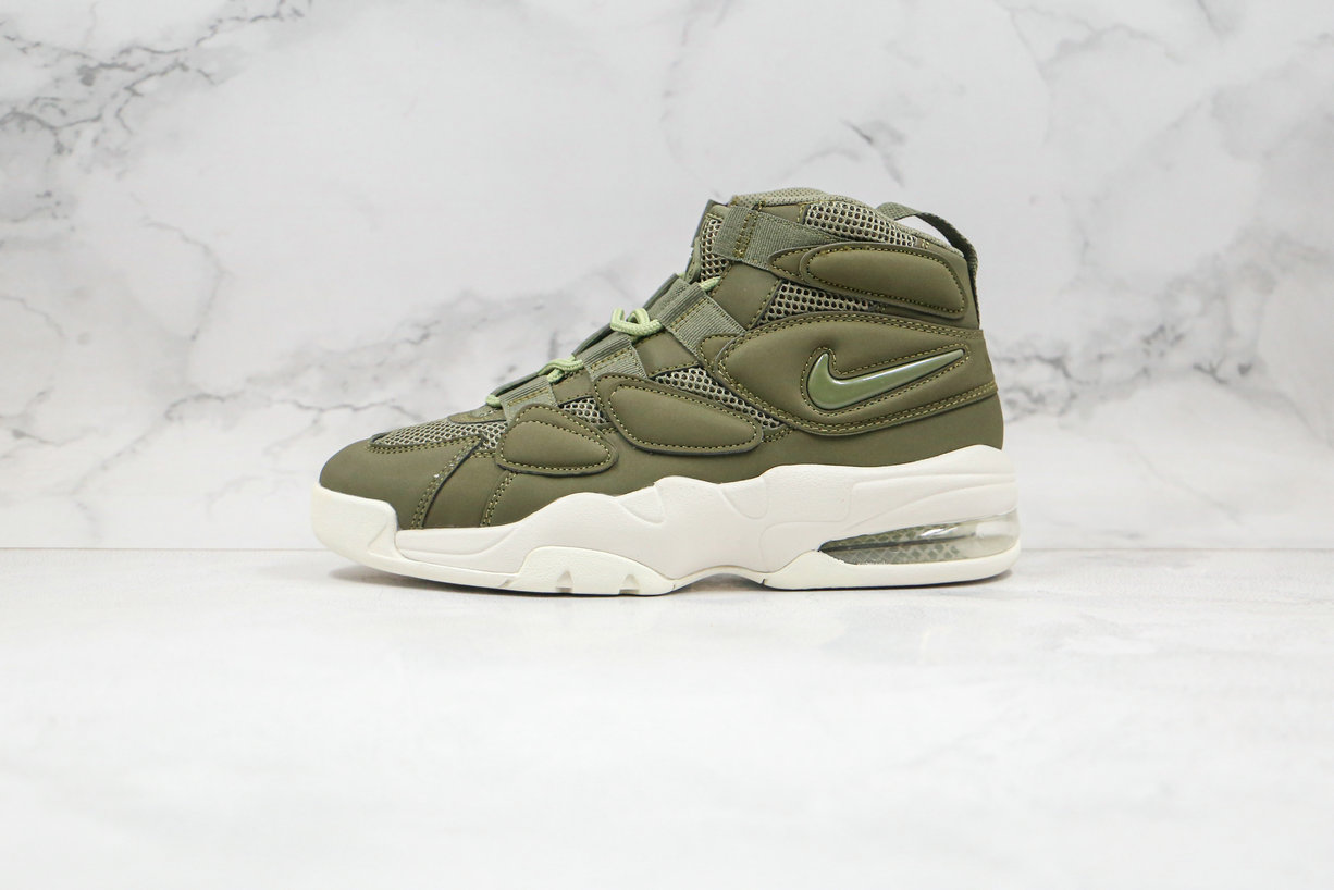 2020 Cheapest Nike Air Max Uptempo 2 Army Green 919831-300 - www.wholesaleflyknit.com