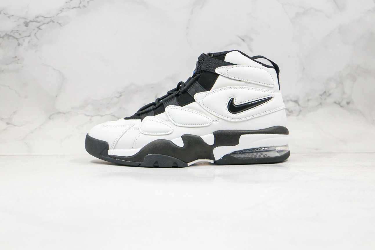 2020 Cheapest Nike Air Max Uptempo 2 White Black 922934-102 - www.wholesaleflyknit.com