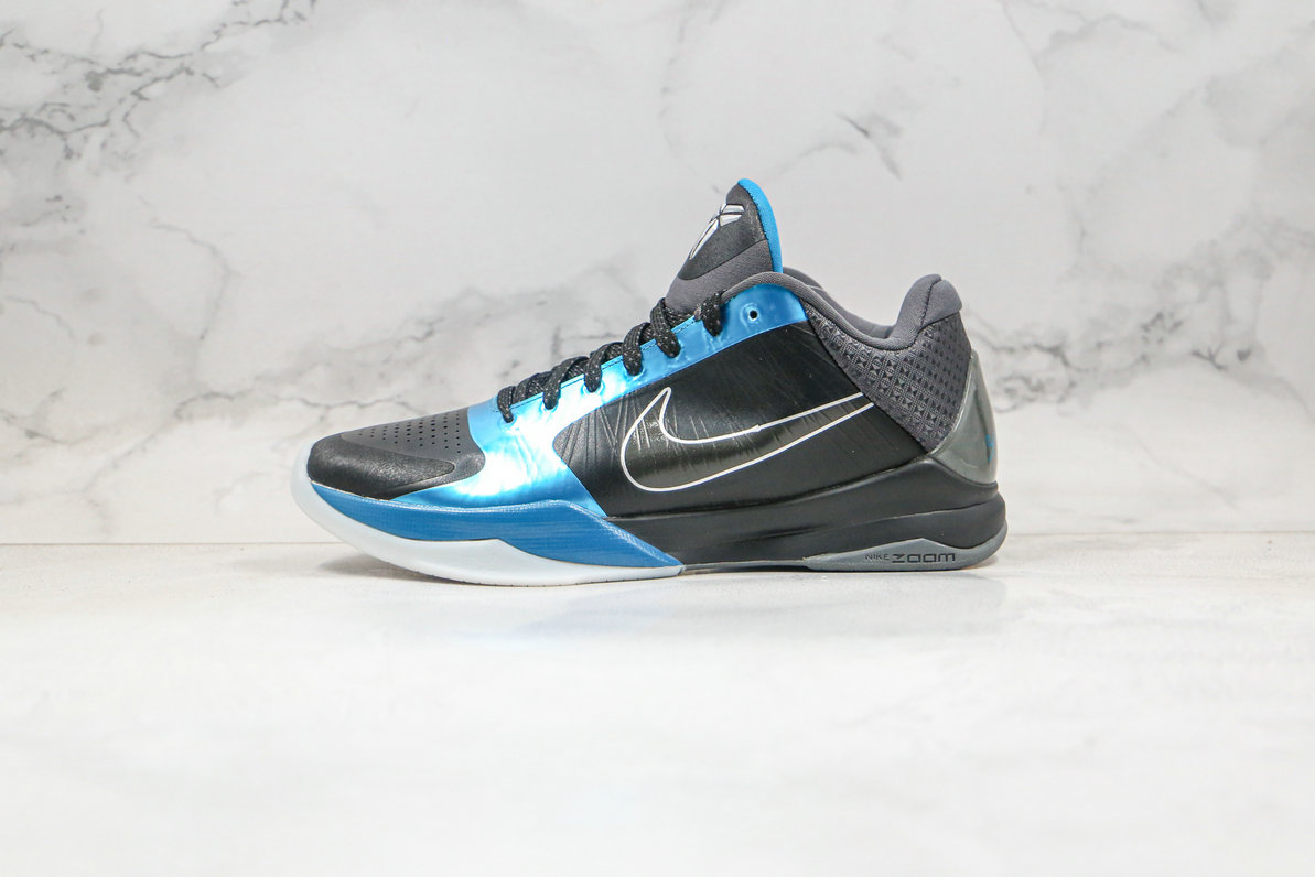 2020 Cheapest Nike Kobe 5 Dark Knight 386429-001 - www.wholesaleflyknit.com