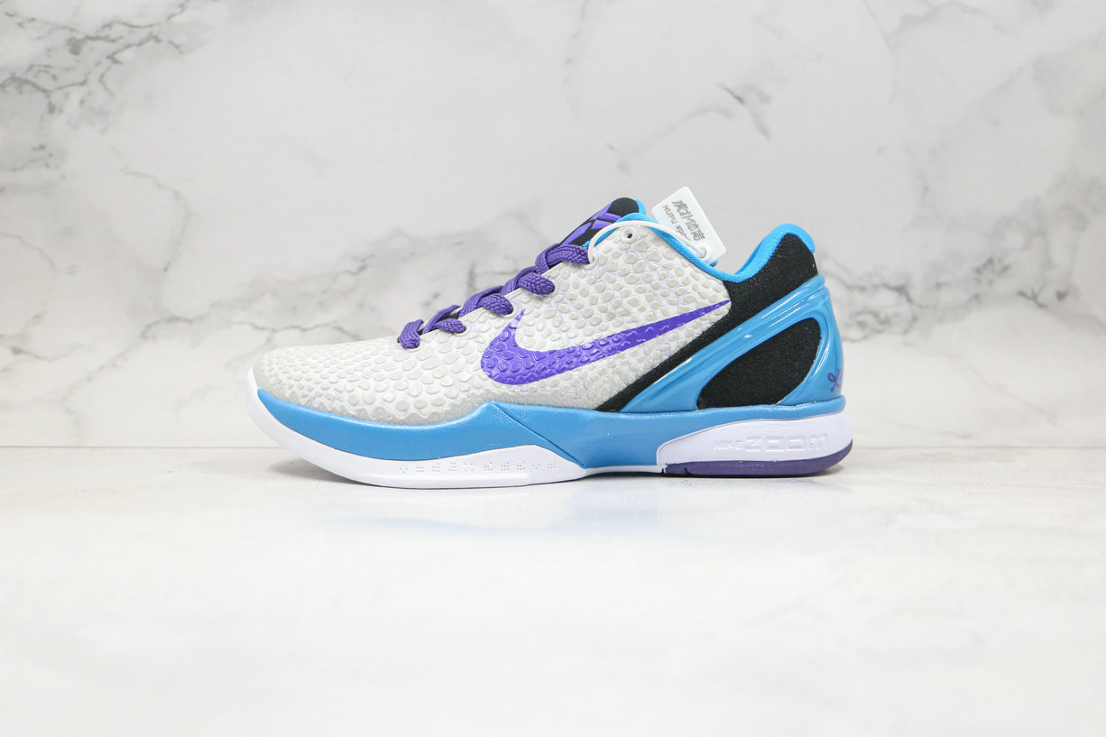 2020 Cheapest Nike Zoom Kobe VI 6 Draft Day Grey Purple 429659-102 - www.wholesaleflyknit.com