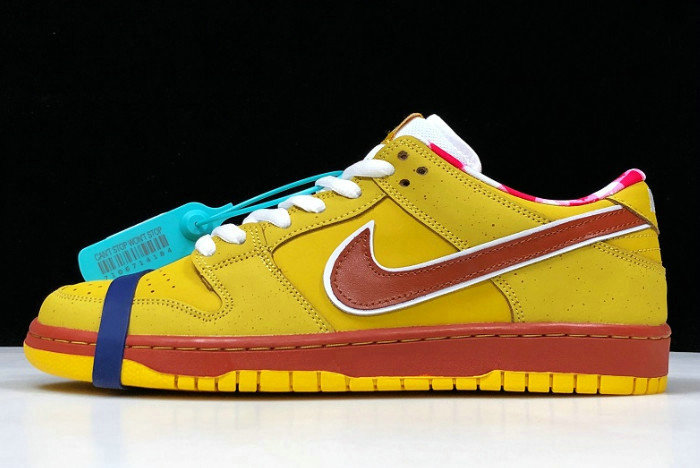 Where To Buy 2020 Concepts x Nike Dunk SB Low Premium Yellow Lobster 313170-137566 - www.wholesaleflyknit.com