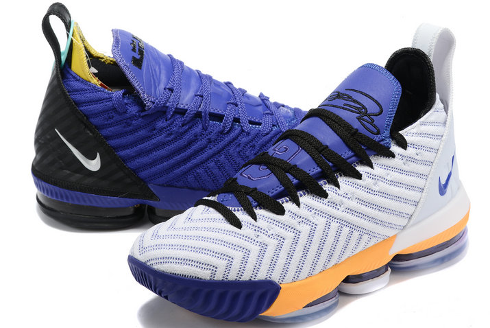 Where To Buy 2020 Nike LeBron 16 Mix And Match Two Colors Mens Size A02588-085 - www.wholesaleflyknit.com