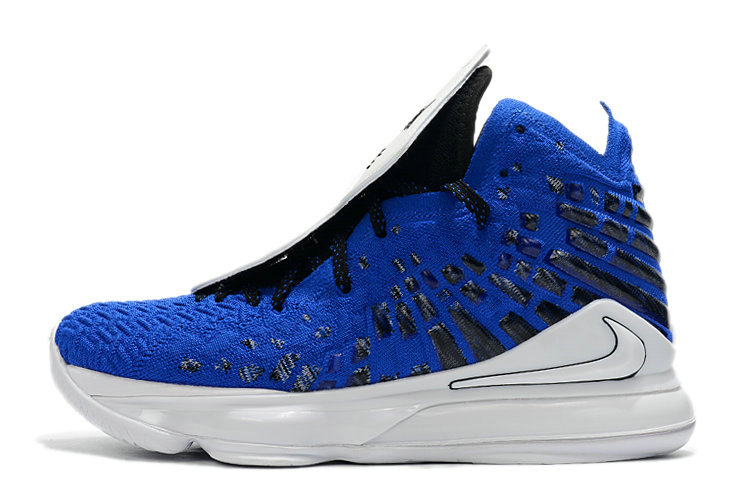 Where To Buy 2020 Nike LeBron 17 XVII EP More Than An Athlete Game Royal Black-White CT3464-400 - www.wholesaleflyknit.com