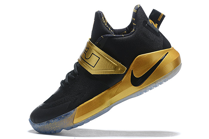 Where To Buy 2020 Nike LeBron Ambassador 12 Black Metallic Gold For Sale - www.wholesaleflyknit.com