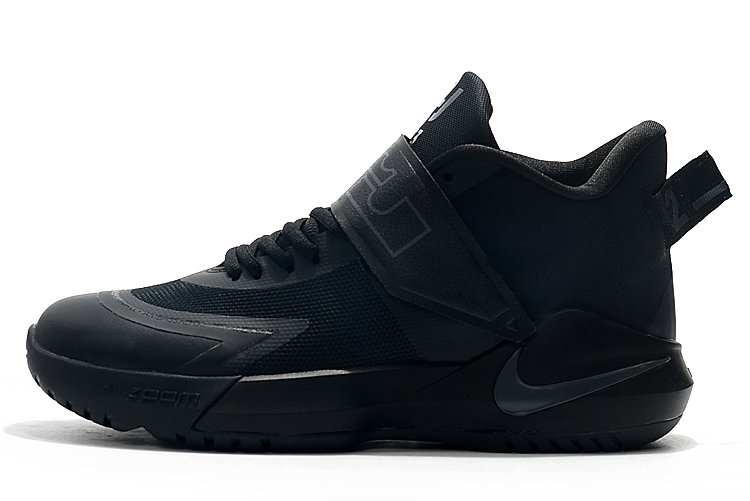 Where To Buy 2020 Nike LeBron Ambassador 12 Triple Black For Sale - www.wholesaleflyknit.com