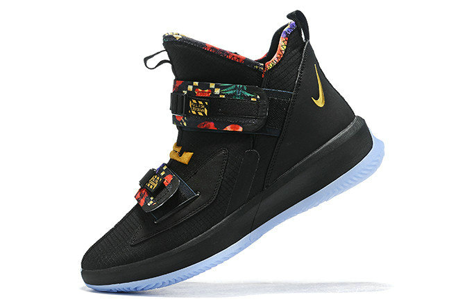 Where To Buy 2020 Nike LeBron Soldier 13 All-Star Black Multi-Color For Sale - www.wholesaleflyknit.com