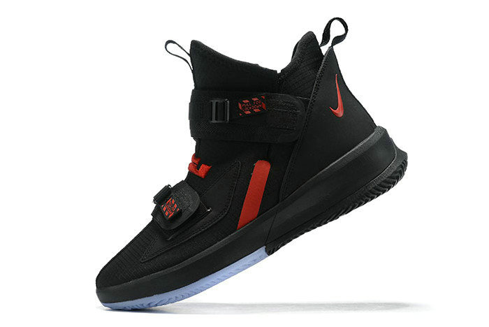 Where To Buy 2020 Nike LeBron Soldier 13 Black University Red For Sale - www.wholesaleflyknit.com